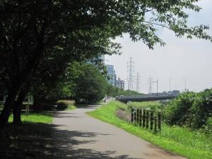 鳥山川遊歩道東